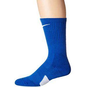NEW ELITE CREW SOCKS ROYAL Nike (L)